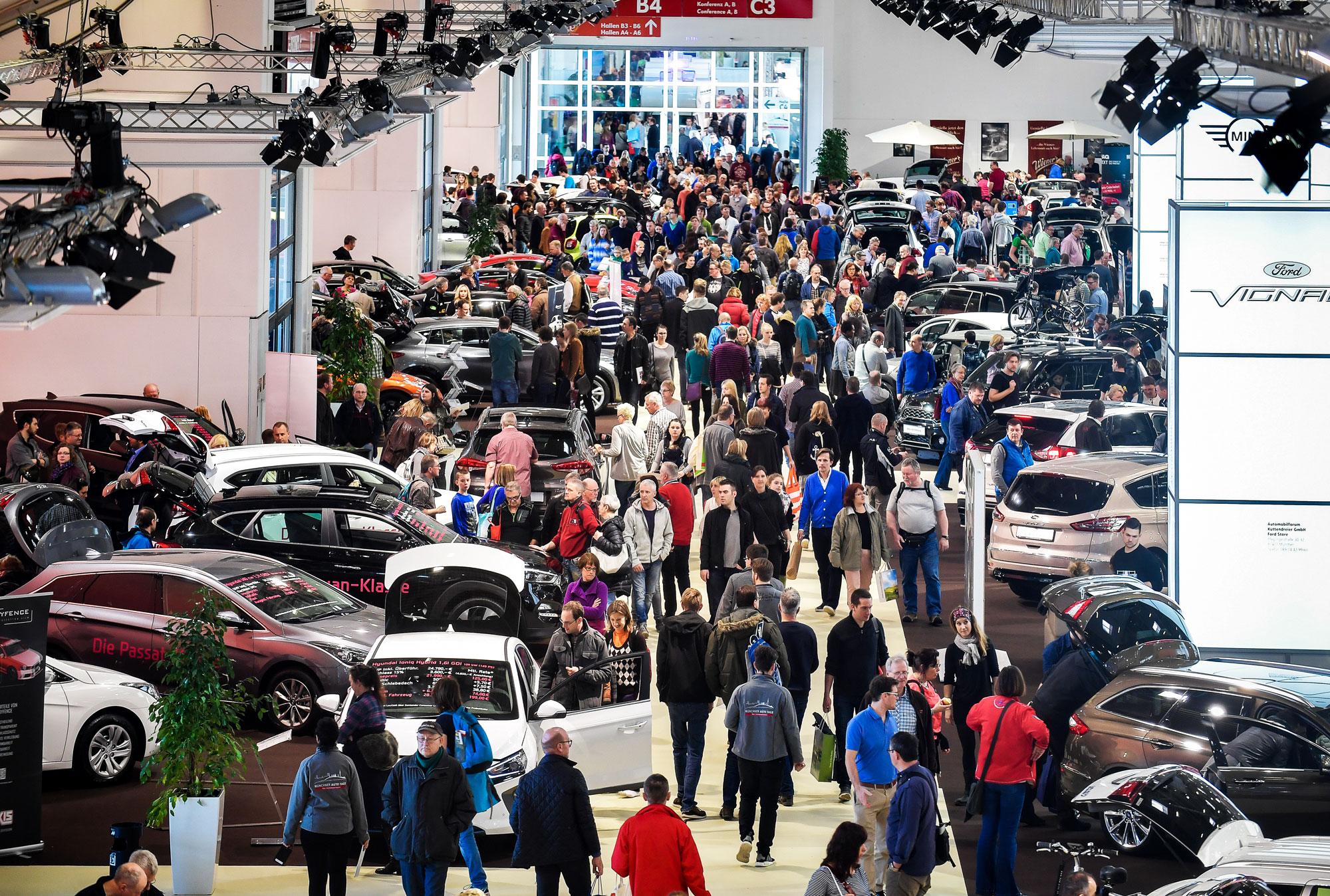 Münchner Auto Tage 2019 Die Automobil-Verkaufsmesse vom 20. bis 24. Februar