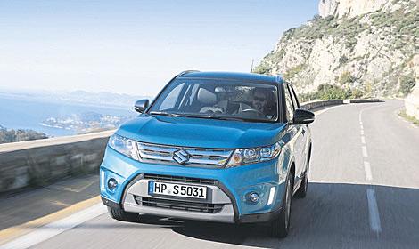 Ein SUV-Pionier wird 30: der Suzuki Vitara. Foto: Suzuki