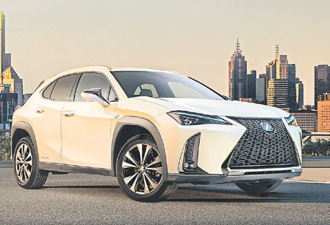 Lexus wird elektrisch mit dem UX 300e. Foto: Lexus