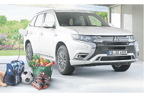 Faszination Auto mit dem Outlander Plug-in Hybrid von Mitsubishi: Erleben Sie mehr als 200 Fahrzeuge! Besuchen Sie die 13. MÜNCHNER AUTO TAGE vom 19. bis 23. Februar 2020.