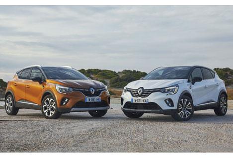 Crossover mit modernster Technik: der Captur. Foto: Renault