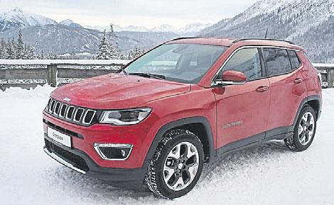 Ausgezeichnet: der Jeep Compass. Foto: FCA