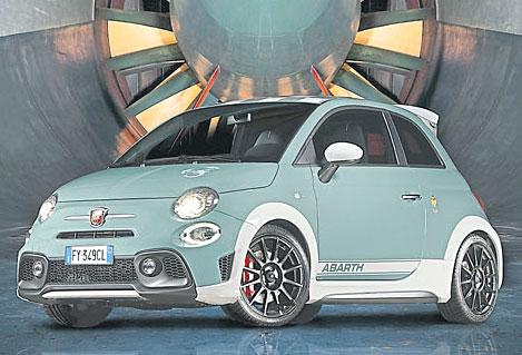 70 Jahre und kein bisschen leise: der Fiat Abarth. Foto: FCA