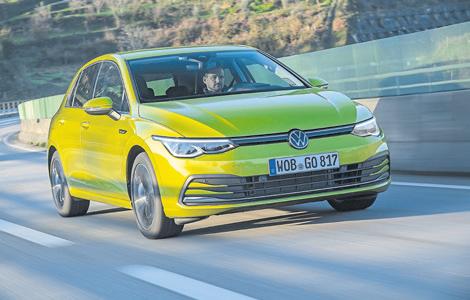 Der Golf VIII: intelligent, vernetzt, elektrifiziert. Foto: Volkswagen